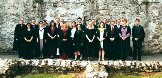 Photograph of Ex Collegio in the grounds of St Davids Cathedral, Pembrokeshire, Summer 2002